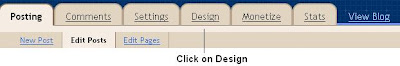 Design Blogger