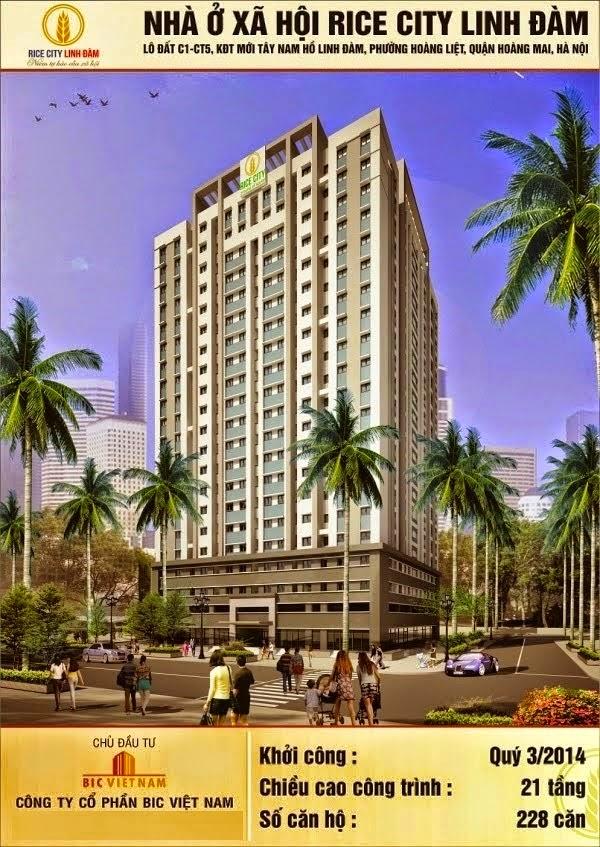 Nhà ở xã hội Linh Đàm Rice City