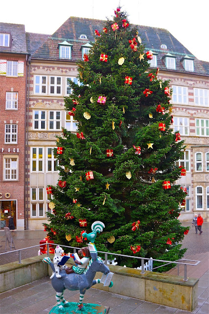Christmas tree in Bremen.