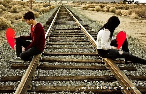 Sad lovers pic