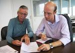 Vereador Carlão Motorista em reunião com o Secretário de Governo Rodrigo Maielo