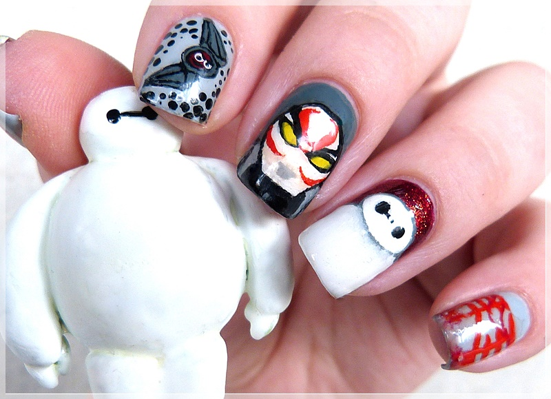 Nageldesign Big Hero 6