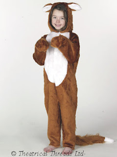 Fox Full Length Kids Costume from Theatrical Threads