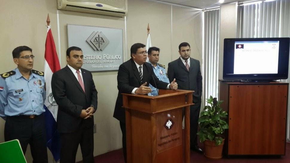 Noticias destacadas del paraguay caso magdaleno for Nombre del ministro de interior y policia