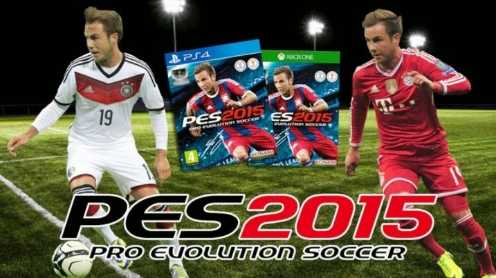 download Game PES 2015 Mod untuk HP Android APK+DATA