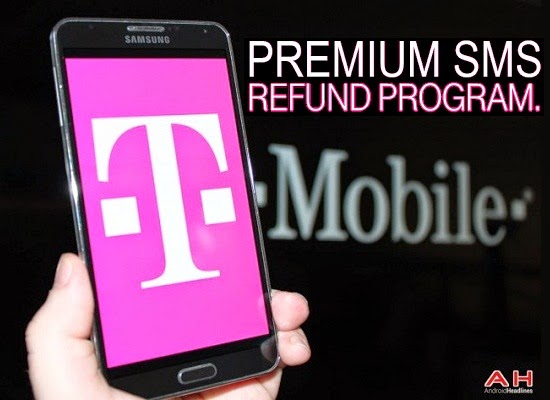 T-Mobile Premium SMS refund Program