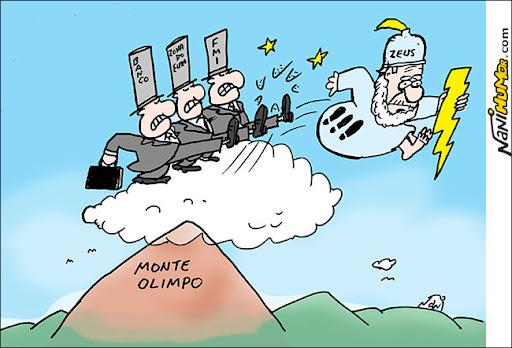 crise grega. monte olimpo