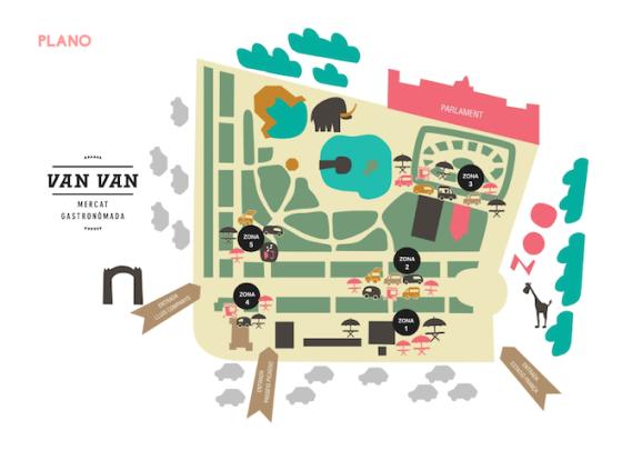 Van-Van mercado gastronómada