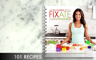 Fixate Cookbook FREE, Chance to Win, Cize Test Group, Recipes, Clean Eating, 21 Day fix, Autumn Calabrese