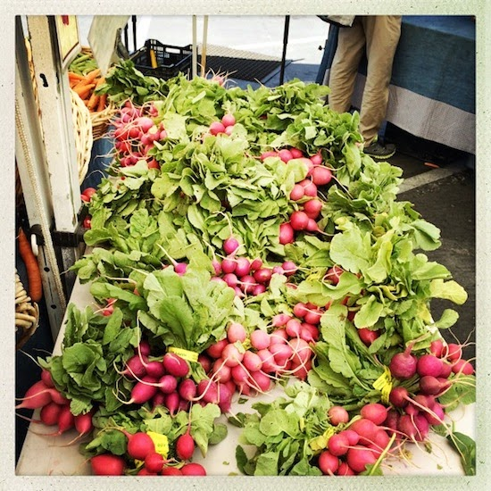 2 Suitcases + 1 Farmers Market = Vegetable Heaven