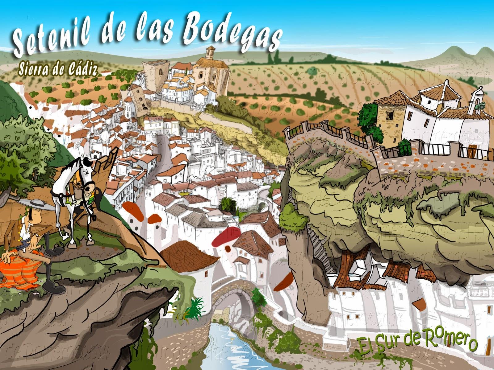"""<img src=""""Setenil de las Bodegas.jpg"""" alt=""""dibujo de setenil""""/>"""