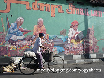 Design art seni mural for Mural yogyakarta