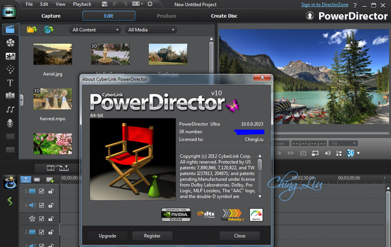 Cyberlink powerdirector ultra v10 build 1129b multilang