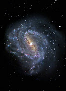 Also, apparently there's a galaxy nicknamed 'the Superman galaxy.