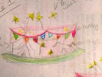 Gifford Circus Cake Sketch