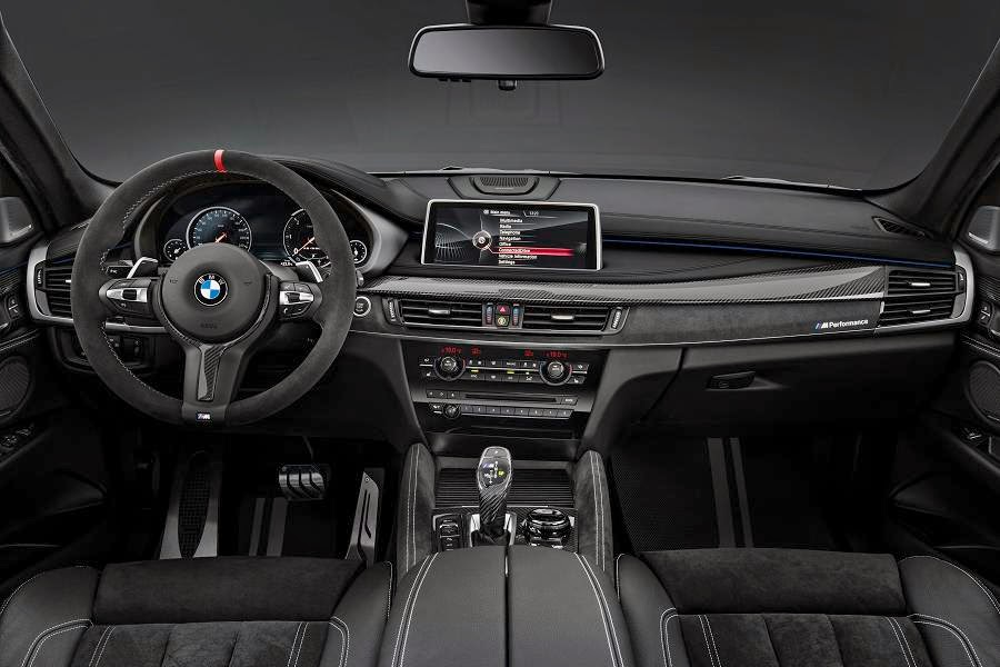 BMW X6 M50d With M Performance Parts (2015) Dashboard