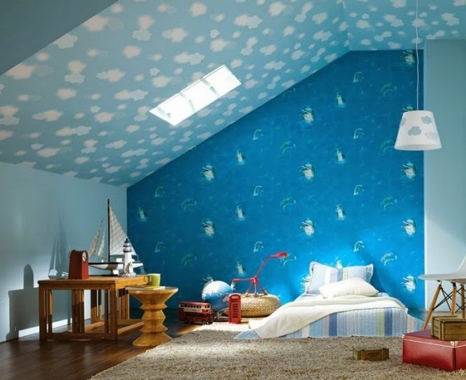 Cute Attic Bedroom for Girl Room