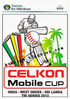 CELKON Mobile Cup Patch For EA Cricket 07