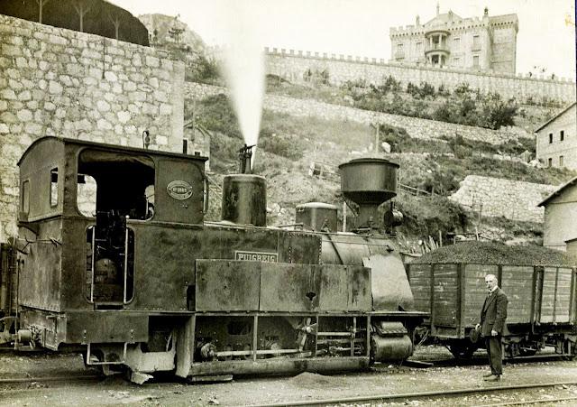 locomotora berga figols las minas castillo olano sant corneli consolacio carbones de berga