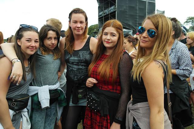 Leeds festival arena