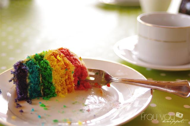 Regenbogen-Torte @frauvau.blogspot.de
