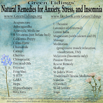 Herbal supplement for anxiety and stress