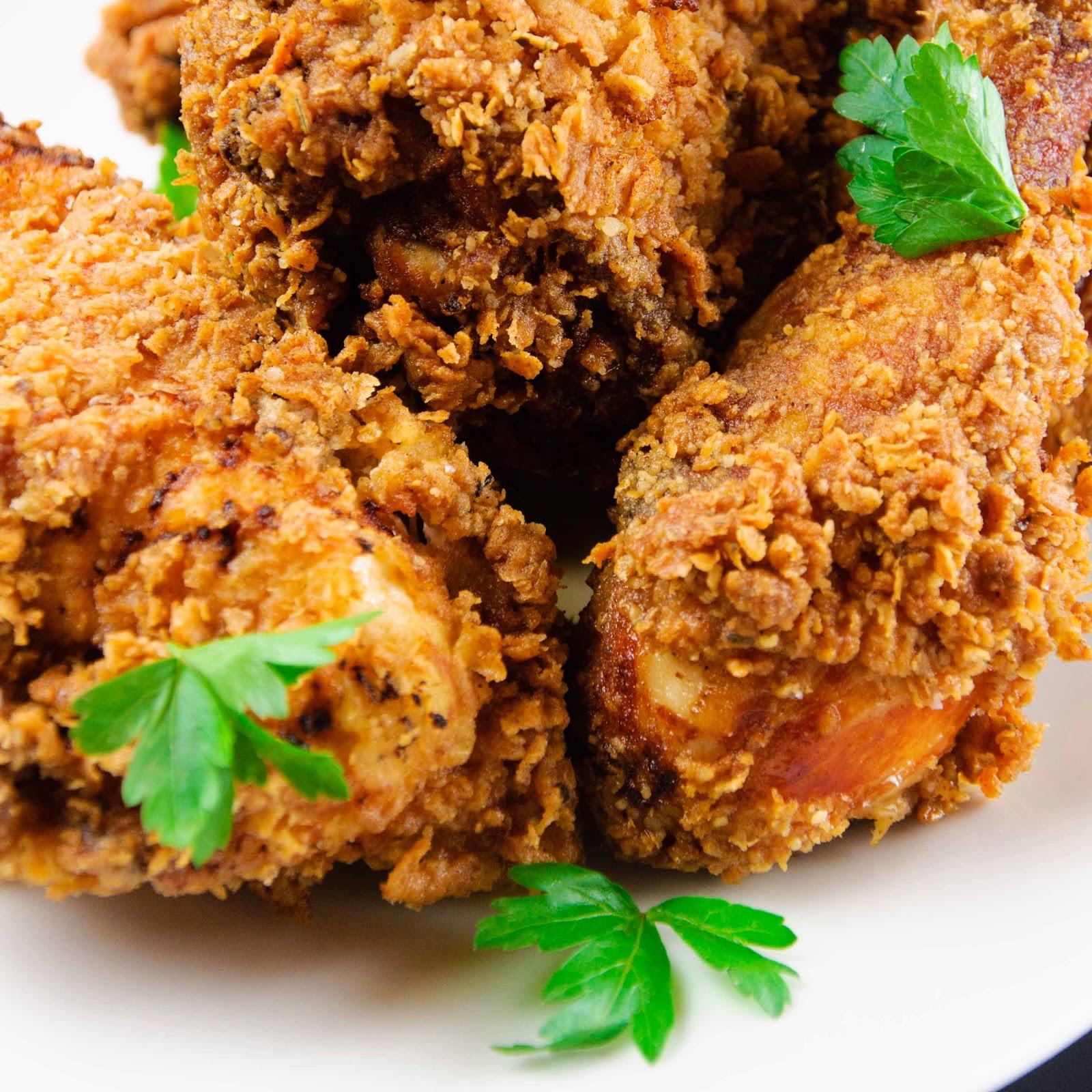 BEST FOOD RECIPES: Buttermilk Fried Chicken