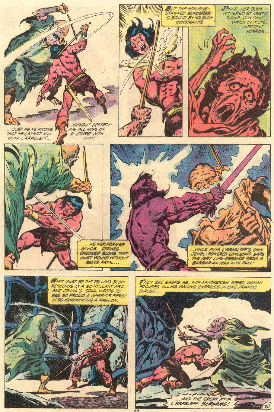 Conan the Barbarian (1970) Issue #118 #130 - English 21