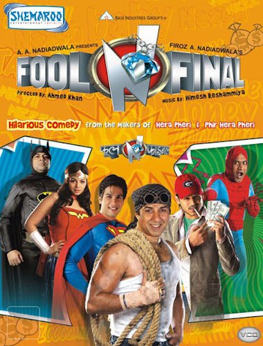 Poster Of Bollywood Movie Fool N Final 2007 300MB Compressed Small Size Pc Movie Free Download