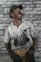 Mike Rowe Dirty Jobs filthy coal dust portrait promo
