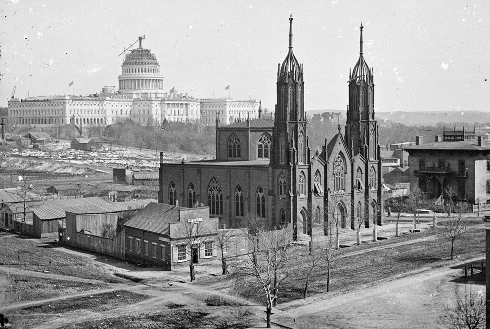 Washington, DC en 1863
