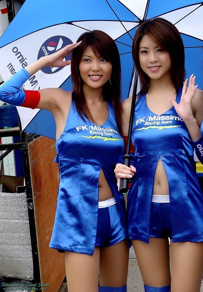 nude umbrella girl asia