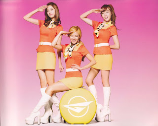 SNSD Girls Generation Yoona, Hyoyeon, Tiffany Girls & Peace Photos