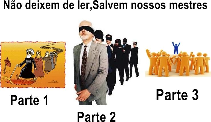 Salvem nossos Mestres ! 1,2,3