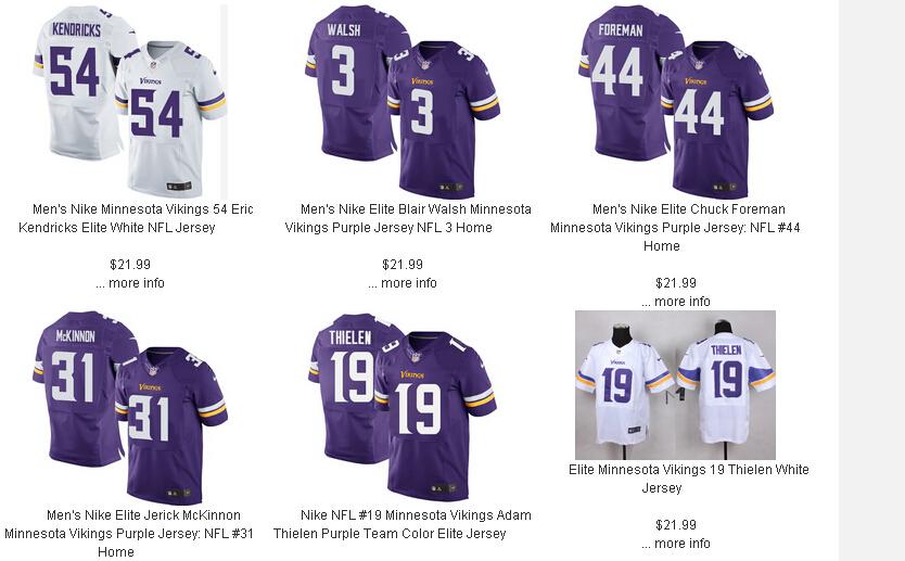 0f173dbd6 Jenny Loop Jerseys Review  Minnesota Vikings Nike Elite Jerseys are ...
