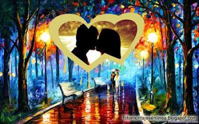 fotomontaje online de amor