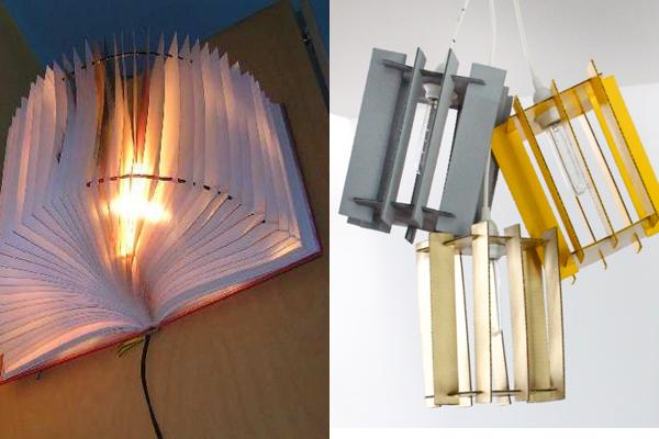 ideas diy lámparas