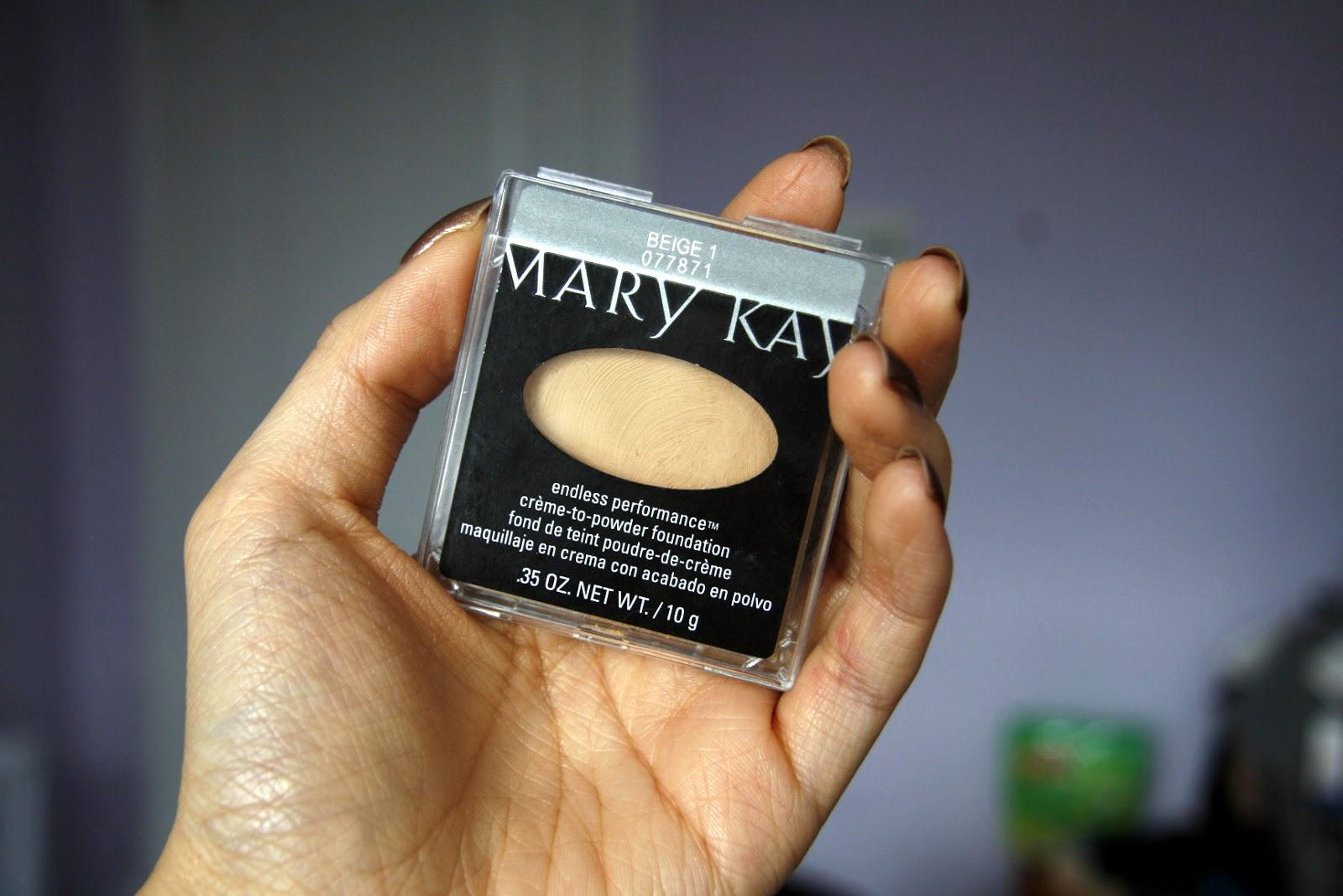 Fun Size Beauty Mary Kay Endless Performance Creme To Powder Foundation