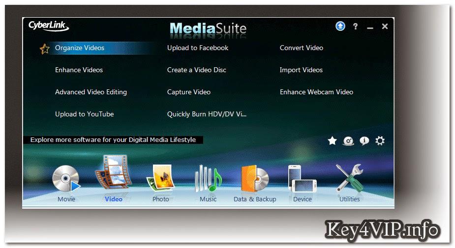 CyberLink Media Suite Ultra v12.0 Multilingual Full Key,Bộ công cụ Mutimedia tất cả trong một