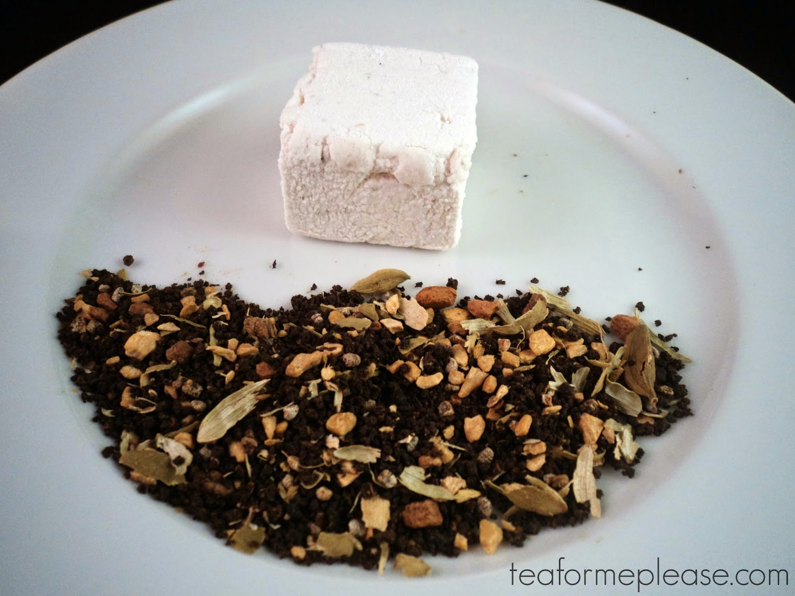 Cinnamon Marshmallow with Chai Tea