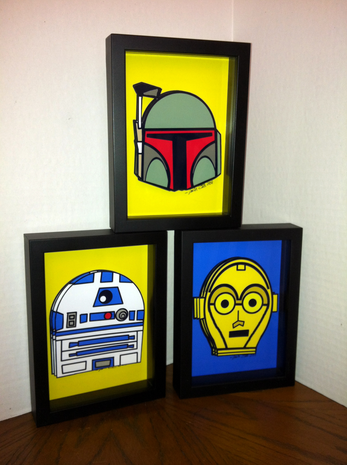 posicart star wars pop art. Black Bedroom Furniture Sets. Home Design Ideas