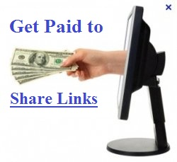 Earn money online with sharing links