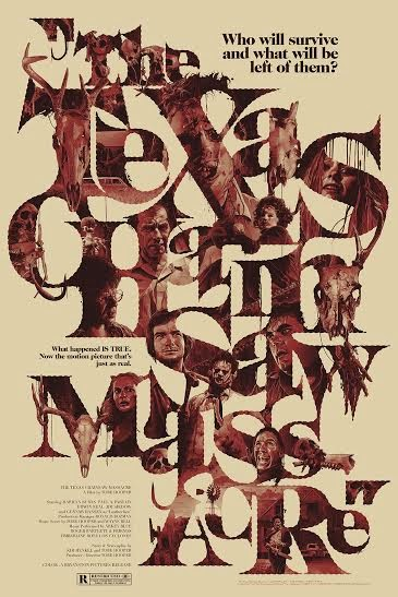 The Texas Chainsaw Massacre Variant Screen Print by Grzegorz Domaradzki