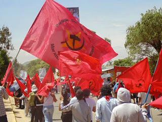 UJRM presente en la mega marcha del 14 ed Junio en Oaxaca