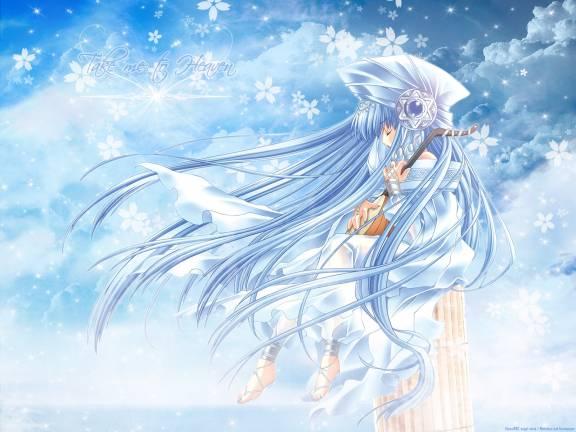 Cute+anime+angel+wallpaper