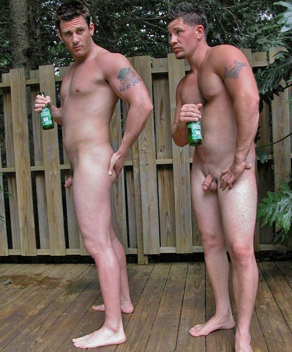 hot nude men together