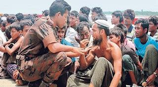 nasib muslim rohingnya kelaparan di myanmar