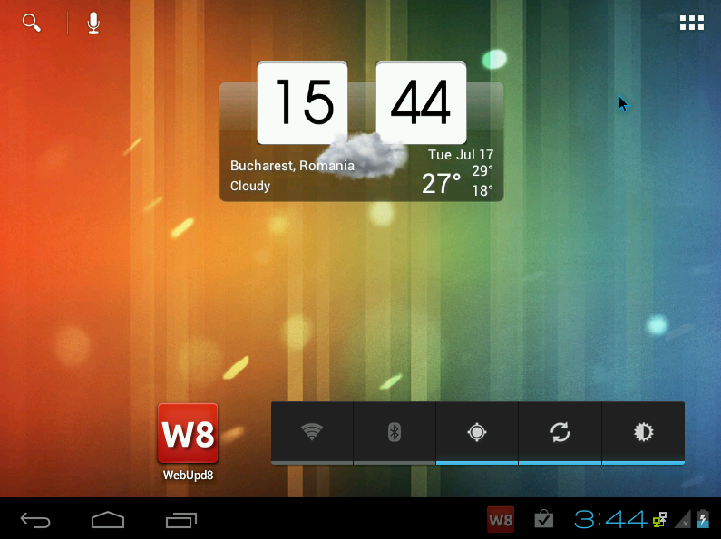 how to open ics file in android
