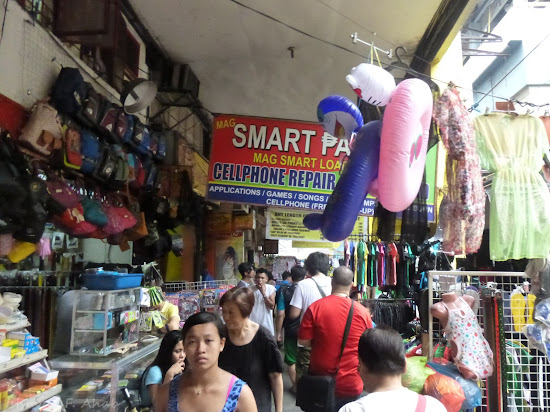 Sidewalk at Blumentritt