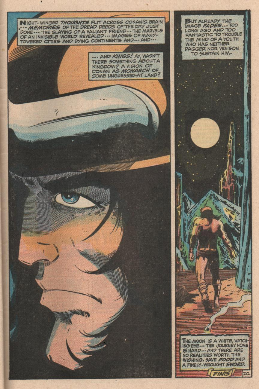 Conan the Barbarian (1970) Issue #1 #13 - English 21